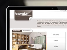 Bamolux - Site internet